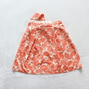 J.Crew Women's Career Floral A-Line Skirt Size 12